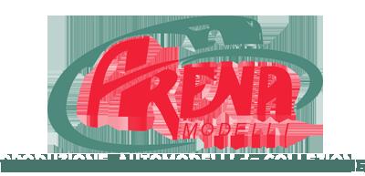 Arena modelli modellismo auto scala 1/43 1/24 Logo