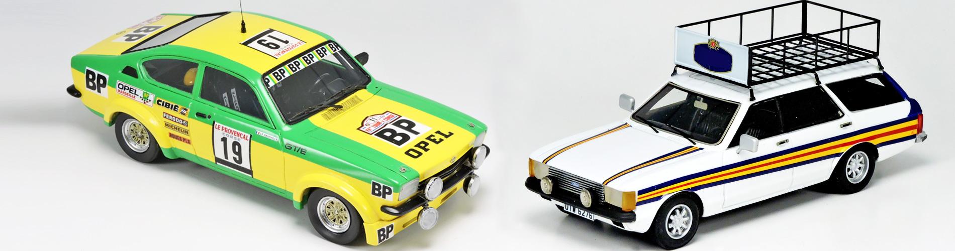 Accessoire auto  Décalcomanie pour miniature 1//43 FORD ESCORT MKII Boucles de